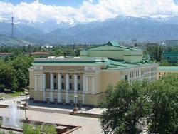 Abay theatre, Almaty